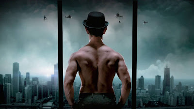 Aamir Khan stills in Dhoom 3 movie, Aamir Khan images from latest movie Dhoom 3, Dhoom 3 movie first look posters, Dhoom 3 movie working stills
