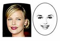 model rambut bentuk wajah oval