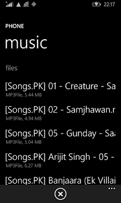 How to send Music files/Songs through WhatsApp in Windows Phone