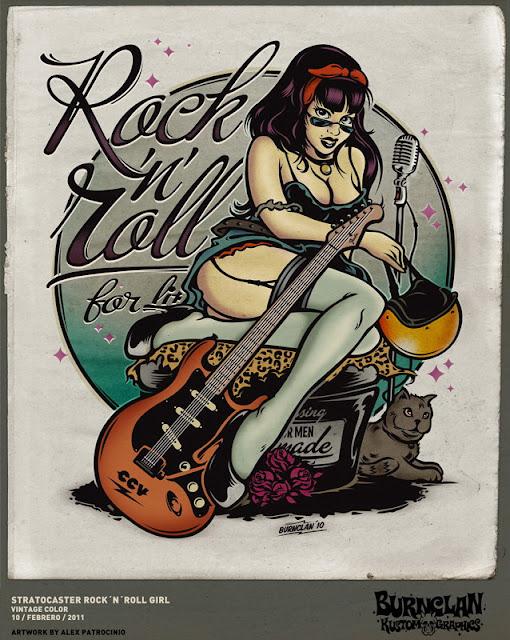 Stratocaster Doll by Alex Patrocinio
