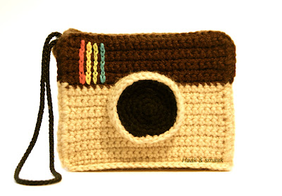 free crochet pattern instagram camera bag