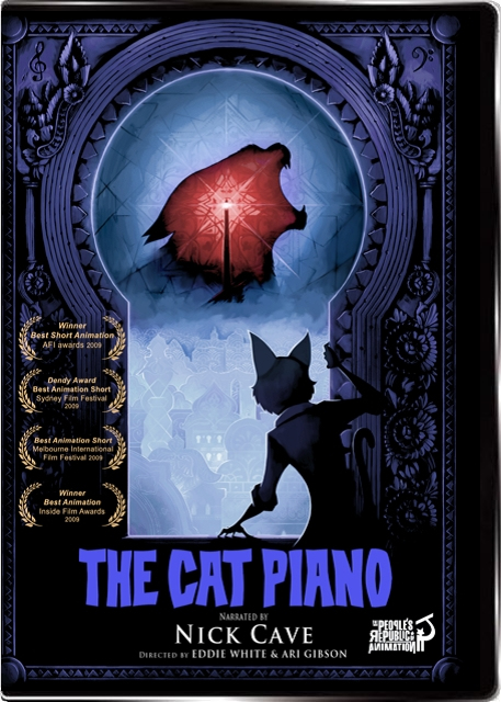 Animation And Video Blog The Cat Piano