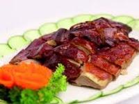 resep asli bebek peking panggang
