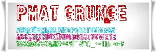 Free Grunge Fonts For Designers