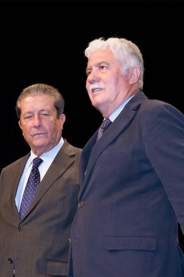 D. Federico Mayor Zaragoza y D. Juan Andrés Tobar