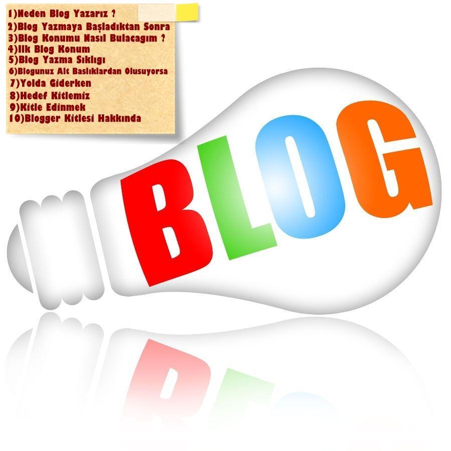 10 Adimda Blog Yazarligi