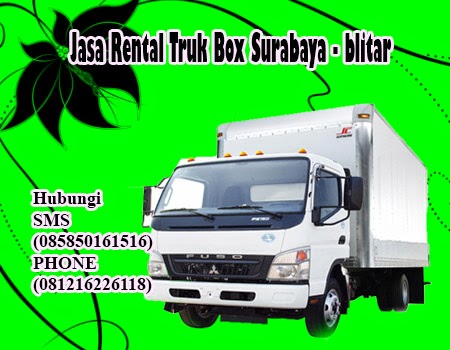Jasa Rental Truk Box Surabaya - blitar