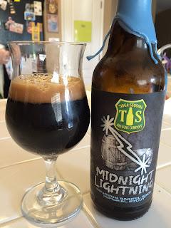 Tioga Sequoia Midnight Lightning Bourbon Imperial Stout1
