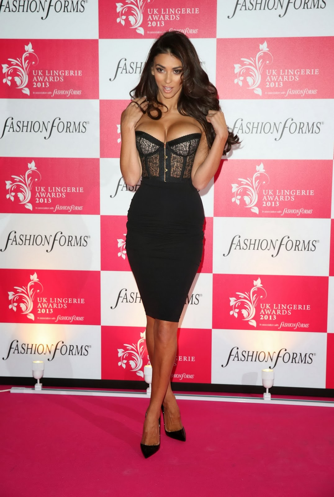 "Georgia Salpa ""UK Lingerie Awards 2013"""