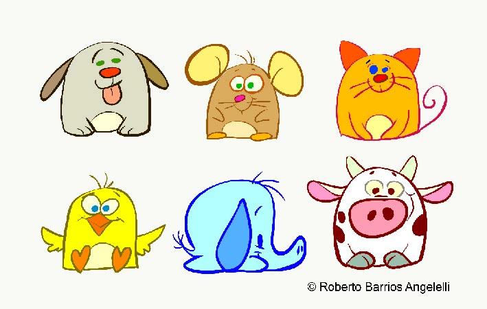 Roberto Barrios Angelelli: Diseños infantiles