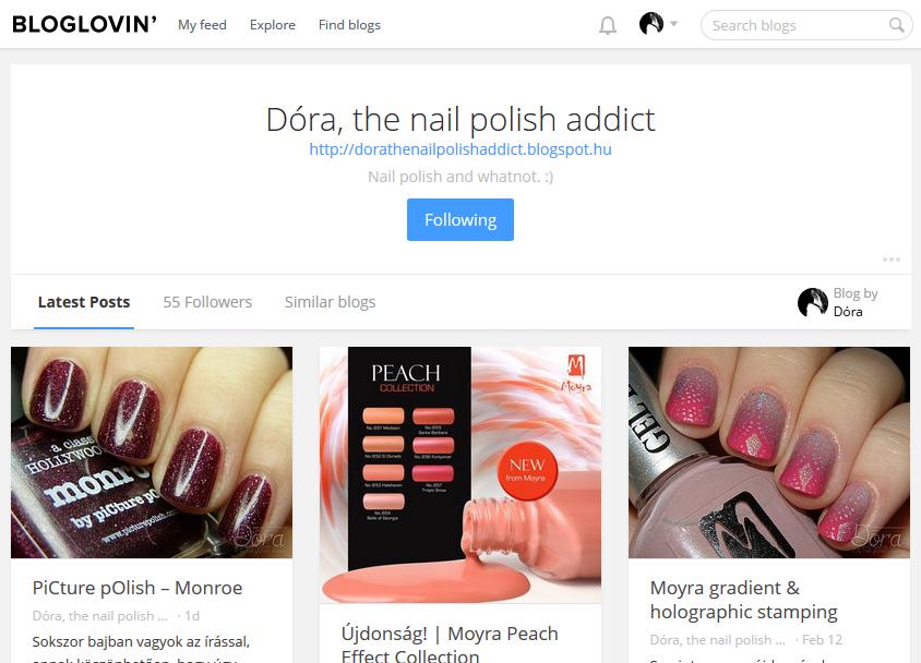 http://www.bloglovin.com/blogs/dora-nail-polish-addict-11464027