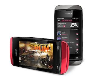 handphone dual sim dari nokia terbaru bernama nokia asha 305 layar 3