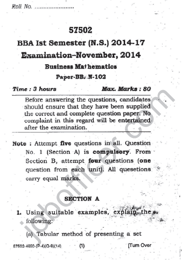 BBA 1st Semester Short Question Answer Bookkeeping 2018 2019