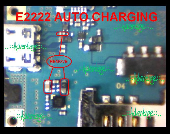 SAMSUNG E2222 Mengisi Terus