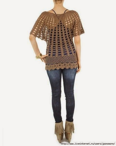 Free Crochet Tunic Pattern For Beginners : Crochet Patterns to Try: Free Crochet Pattern for Infamous ...