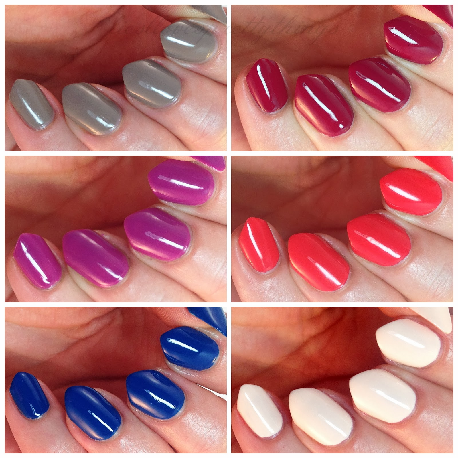 LVX Spring 2014 collection swatches and review