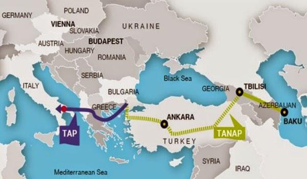 Турция как новый центр распределения газа для Европы