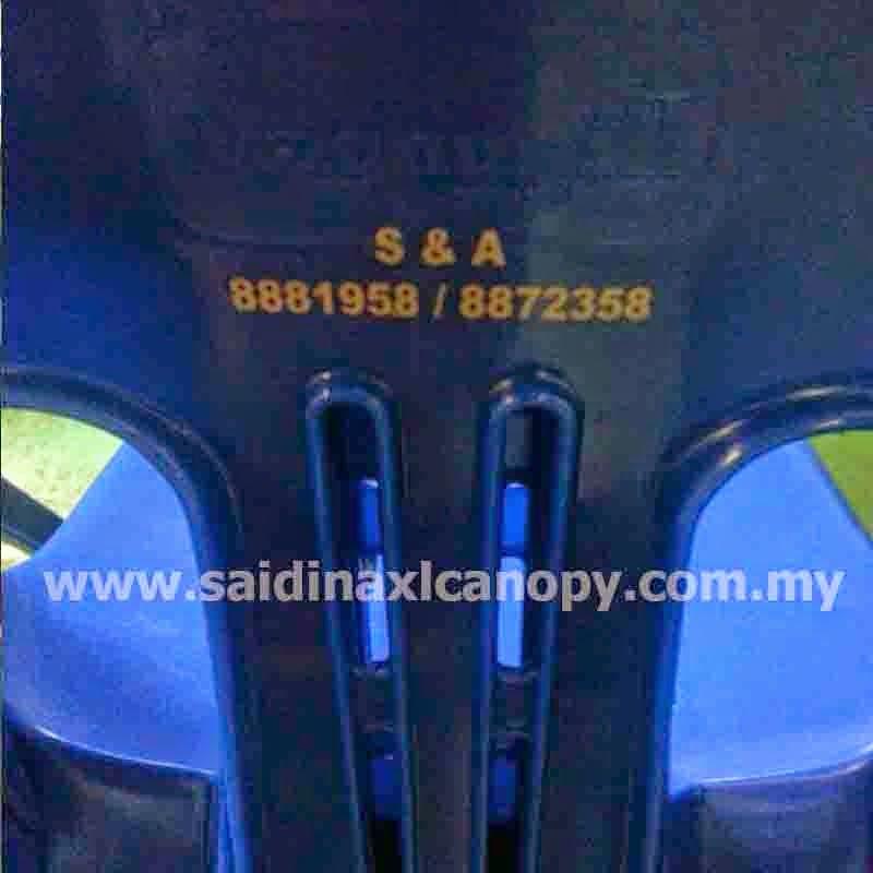Export kerusi plastik ke Brunei