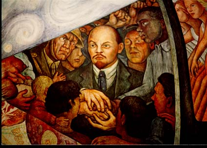 T c c diego rivera artist birthday for Diego rivera lenin mural