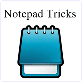Top 9 Best Cool Notepad Tricks & Hacks For PC