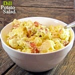 Dill Potato Salad...a quick, easy side dish favorite!