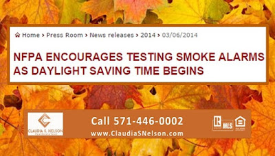 National Fire Protection Association, Daylight Saving Time Article