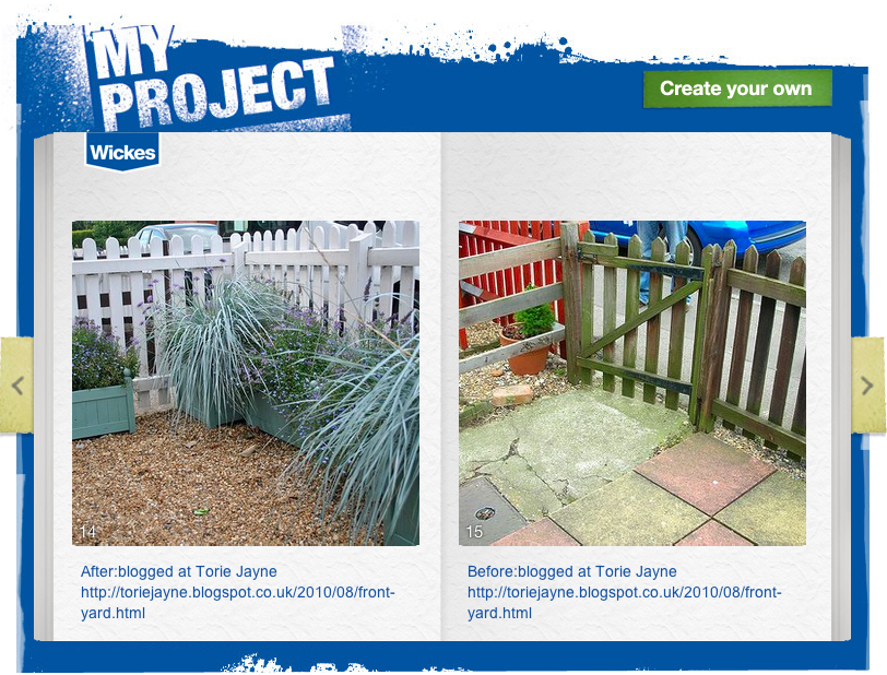 Wickes - My project 2012