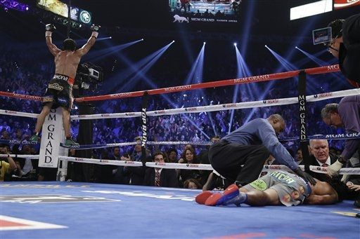 Pacquiao vs Marquez Winner Result - Marquez Wins Knockout Pacquiao KO!