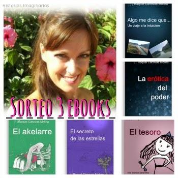 Sorteo 3 books de Raquel Canovas Molina