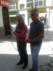 Ángeles y Paco