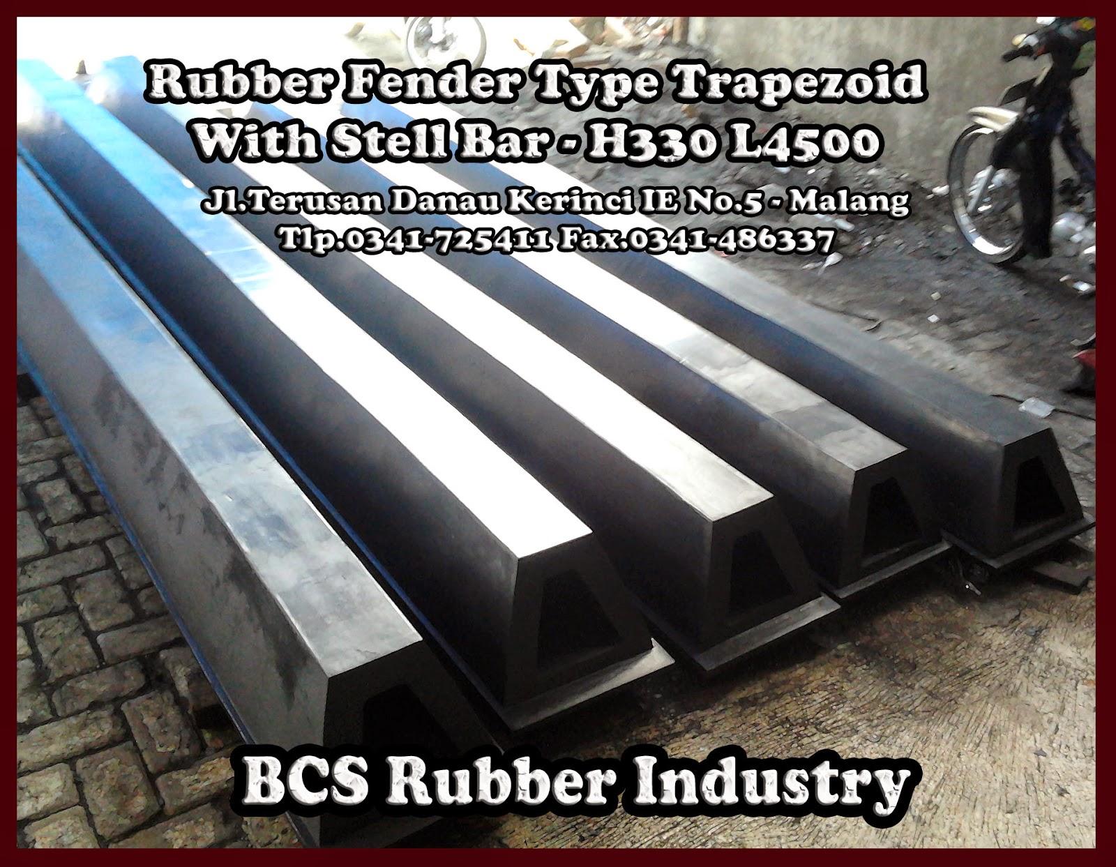 TRAPEZOID RUBBER FEDER,Rubber Fender,Fender Rubber,BCS Rubber fender