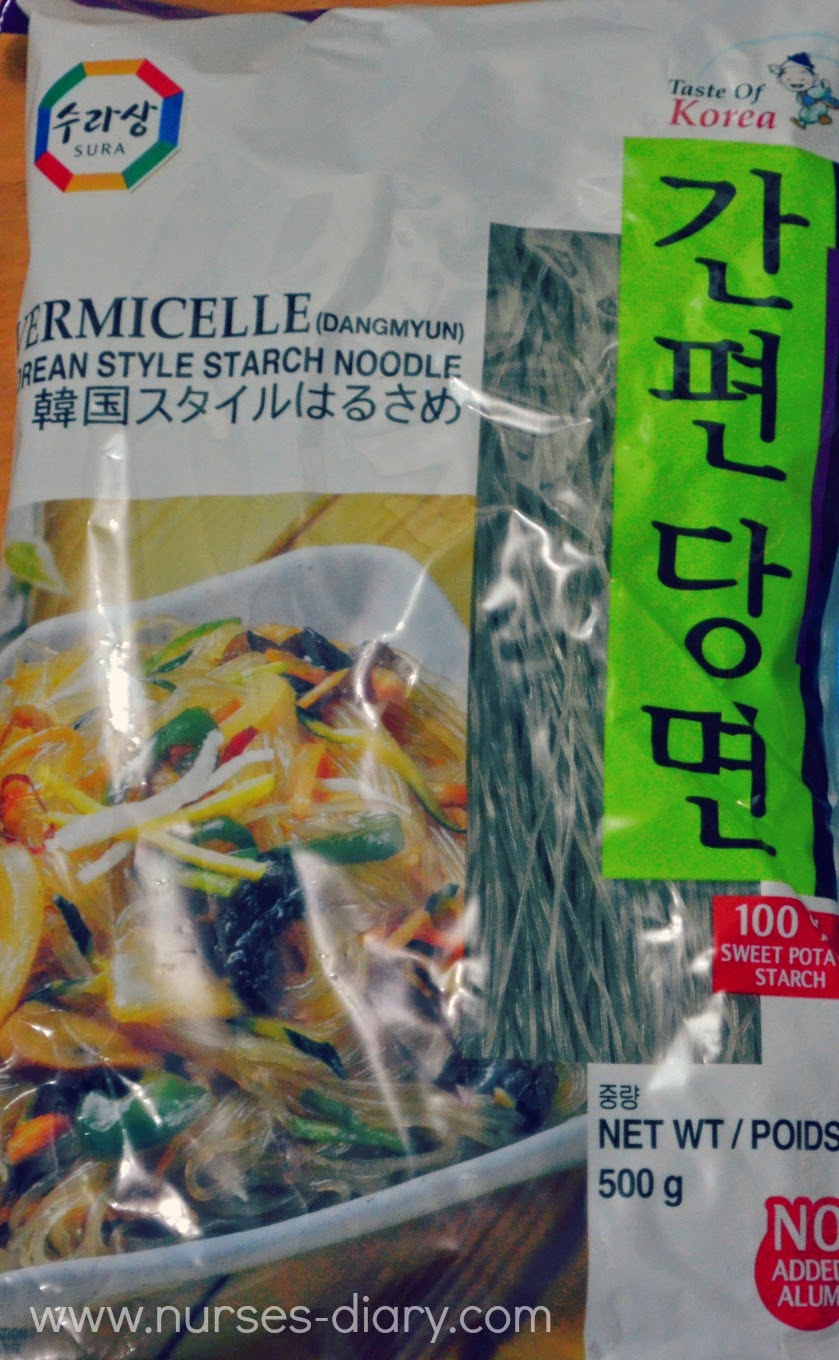 Japchae and Bacon Wraps Recipe