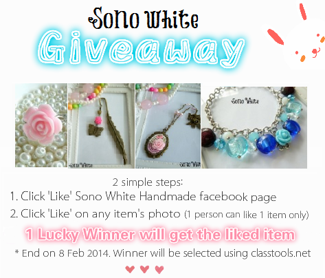 ♥ ♥ ♥ Giveaway ♥ ♥ ♥