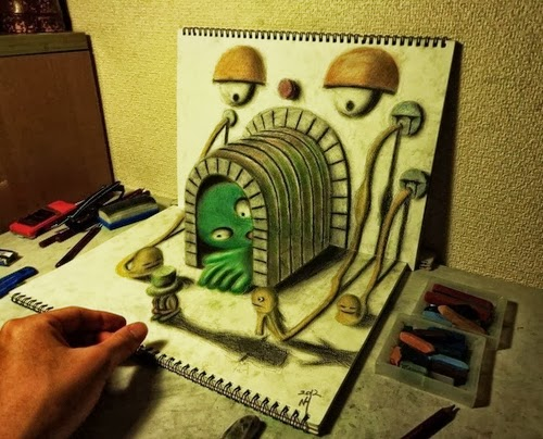 03-NAGAI-HIDEYUKI-Hide-永井-秀幸-3D-Pencil-Drawings-www-designstack-co