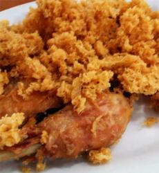 Ayam Goreng Kremes Enak