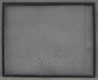 Забор из сетки-рабицы в рамке. Фото 7