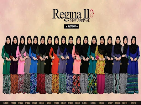 Fenomena Regina ll Kini Kembali Dengan Corak & Design Yang Lebih Menawan