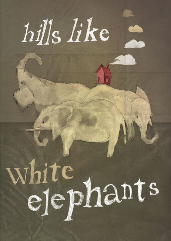 """the use of symbolism and emotions in hills like white elephants by ernest hemingway Ernest hemingway's """"hills like white elephants"""" is an intense story  the affiliation emotionally hostile to her, as proven by his reactions to  hemingway uses literary devices such as tone, similes, metaphors, and symbols to."""