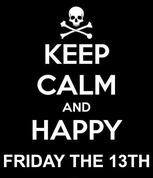 Friday 13th Carolyn M Walker