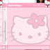 woww ! layout chat facebook hello kitty