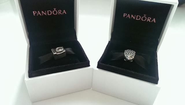 My two newest Pandora charms