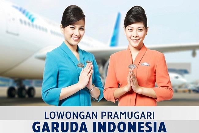 Lowongan Kerja 2013 Terbaru 2013 PT Garuda Indonesia (Persero) Tbk (Pramugari) - SMA/SMK Sederajat, D3 dan S1