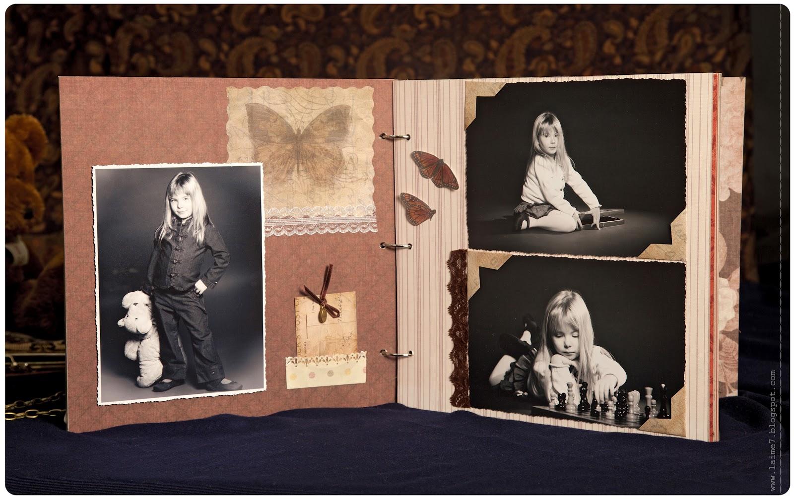 Фотоальбом в стиле скрапбукинга своими руками