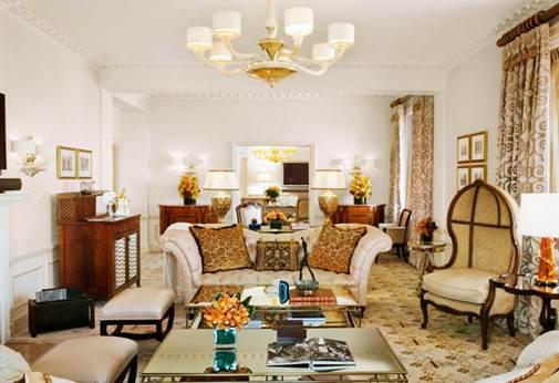 Gambar the tata suite dengan kamar hotel termahal di New York