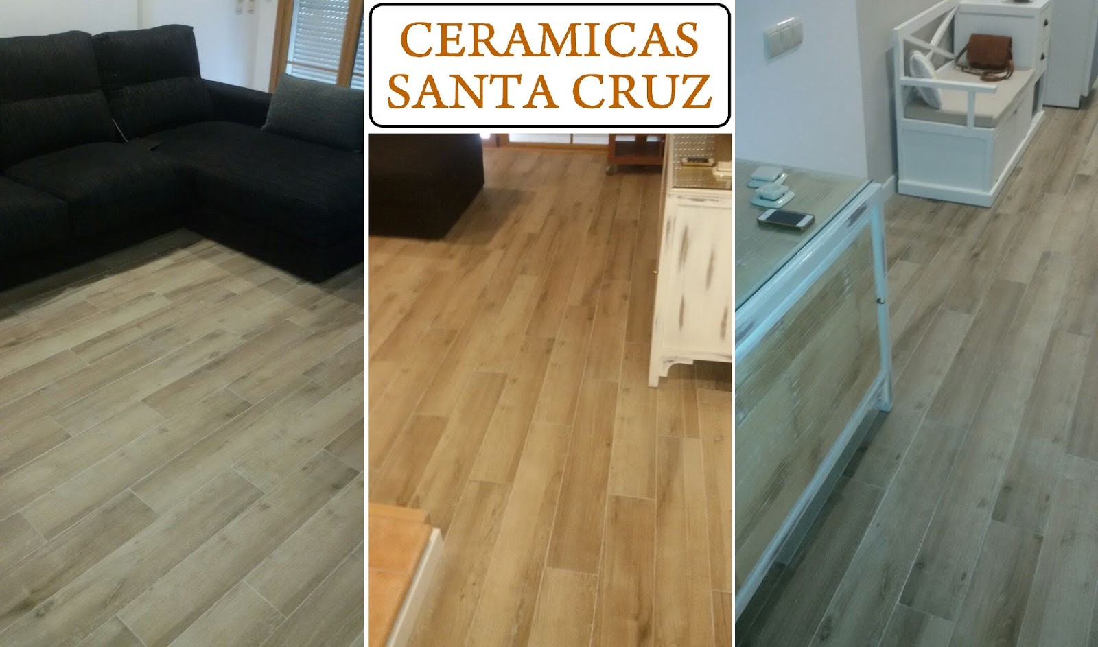 Ceramicas santa cruz julio 2015 for Ceramica imitacion parquet