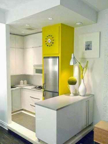 Cocinas peque as o mas bien micro cocinas - Disenar una cocina pequena ...