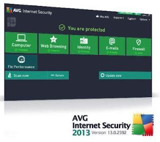 Download percuma AVG Antivirus 2013 dari fail repository AVG muaturun percuma dan free