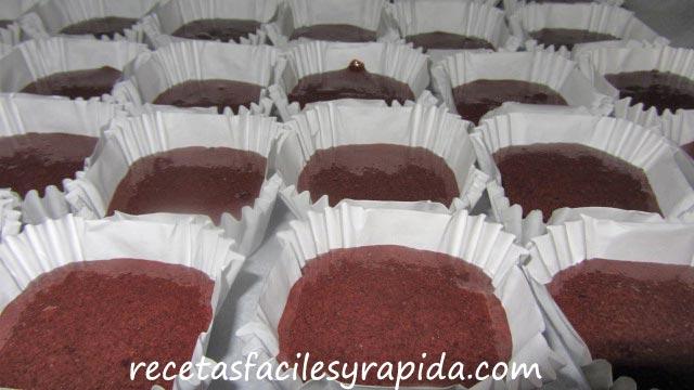 receta de marquesas al cacao
