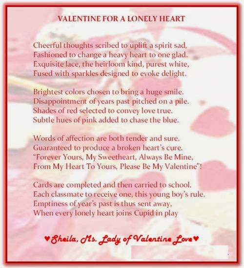 Romantic Poems Valentine's Day For Him 2014