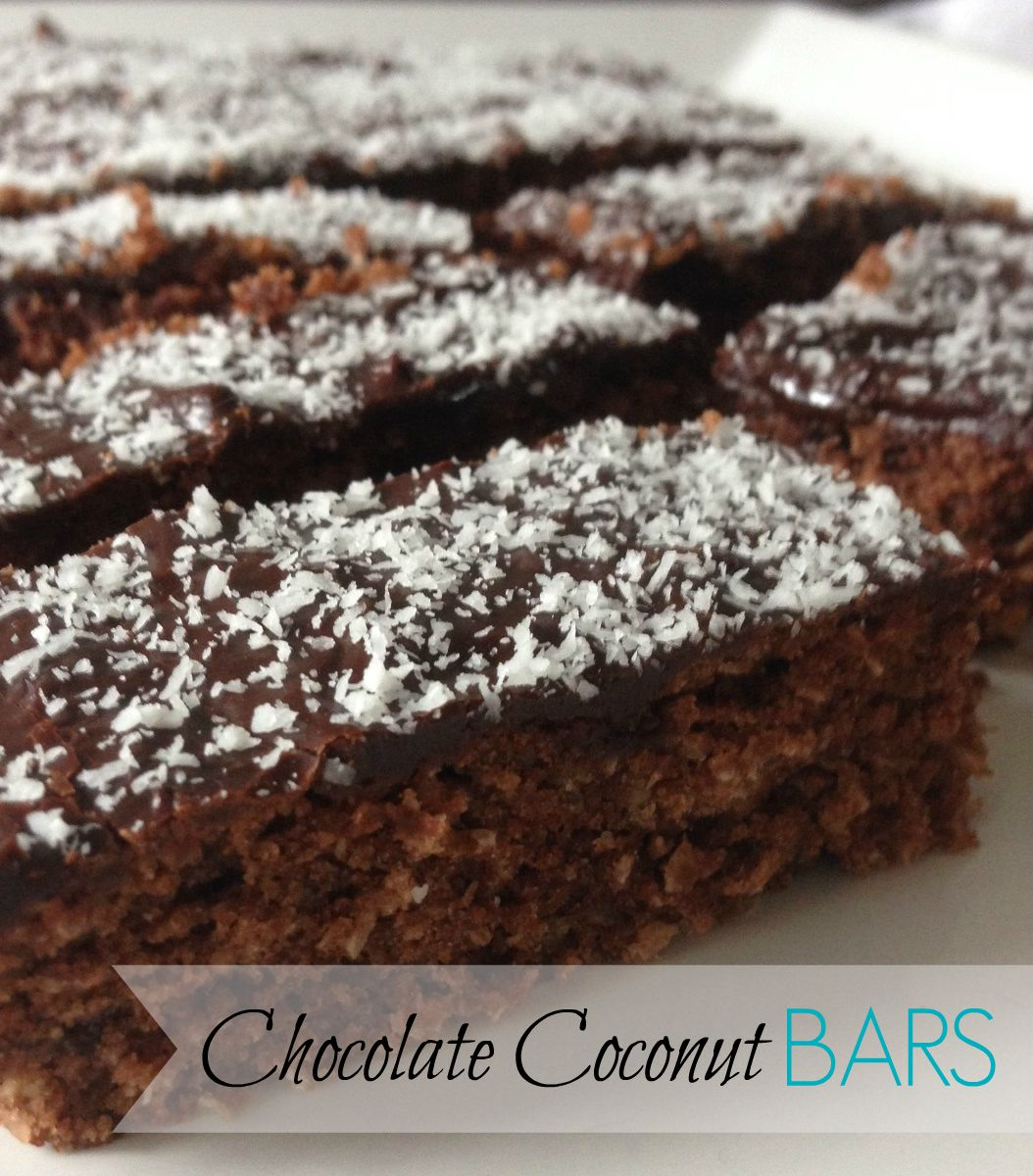 Threadbare Creations: Chocolate Coconut Bars
